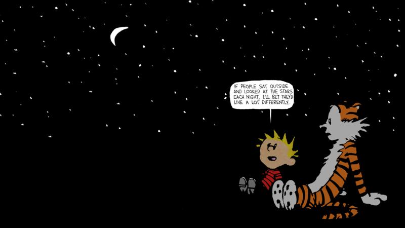 Calvin-and-Hobbes-Stars