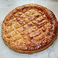 Galette des rois banane chocolat