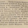 Marguerite giblat, infirmière.