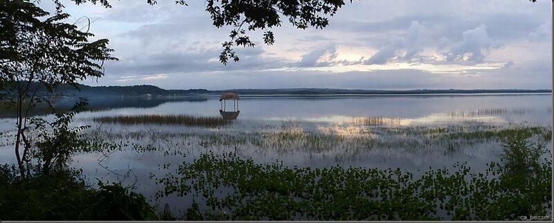 Lac PetenItza - Der Peten Itza See, wo wir Weihnachten verbracht haben