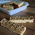 Shortbread au caramel et pistache