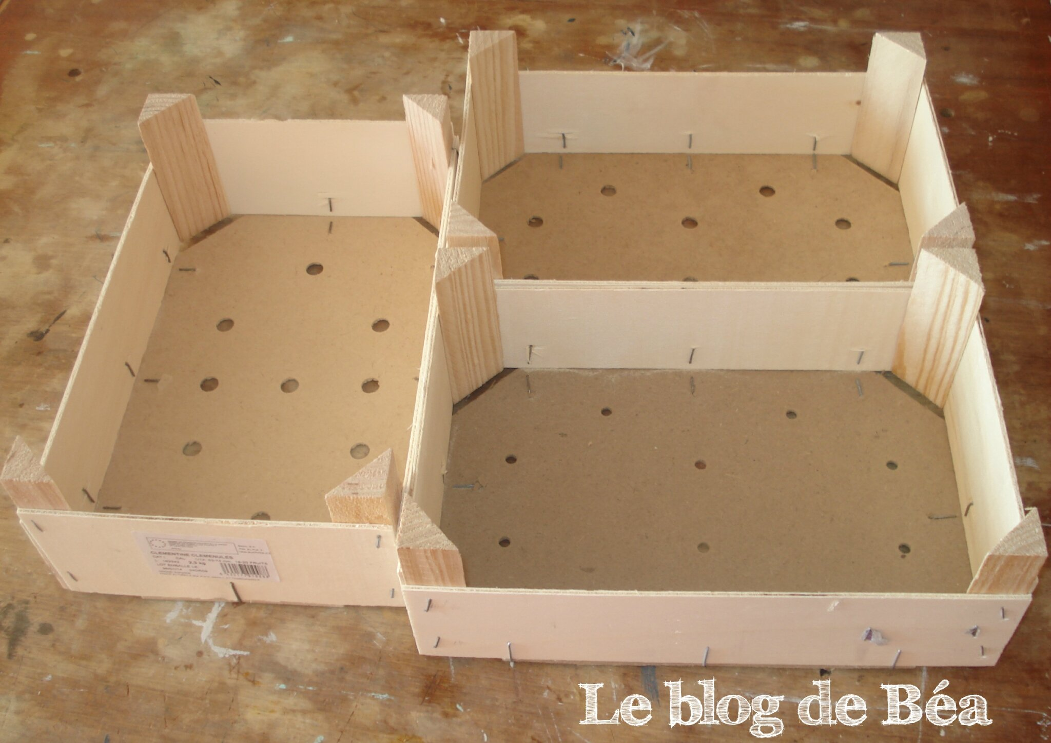 diy fabriquez un calendrier perp tuel avec des planchettes de cagette r cup r es le blog de b a. Black Bedroom Furniture Sets. Home Design Ideas