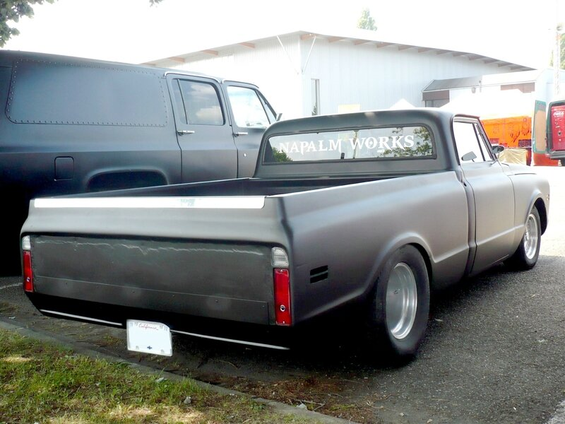 CHEVROLET C-10 2door pick-up Custom 1972 Illzach (2)