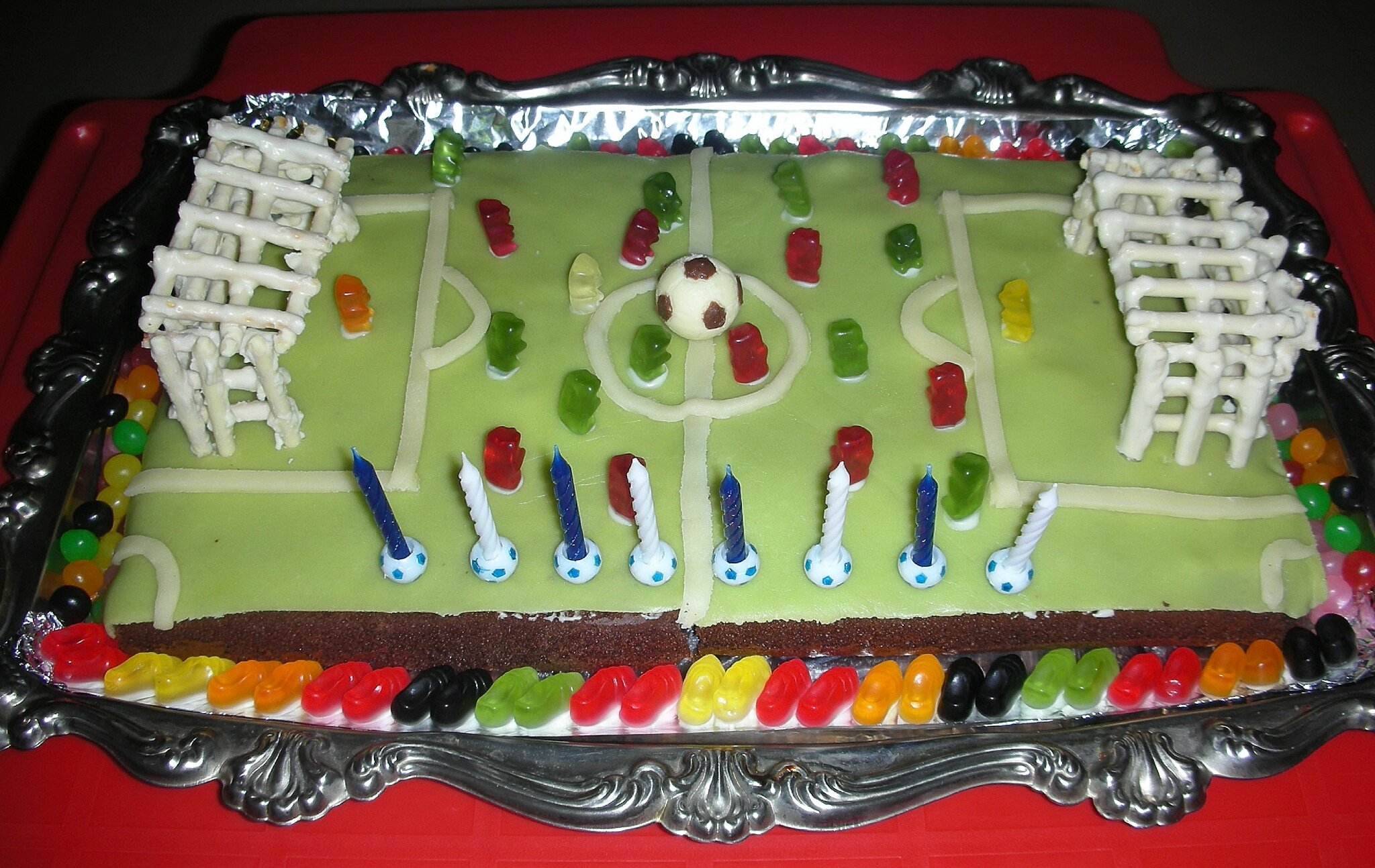Decoration Gateau Anniversaire Football