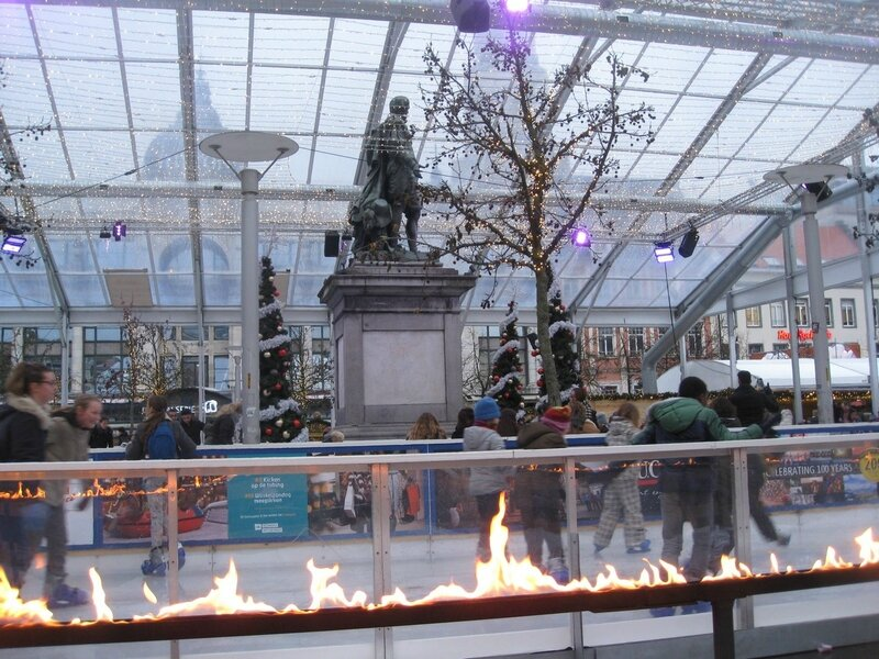 patinoire, Anvers