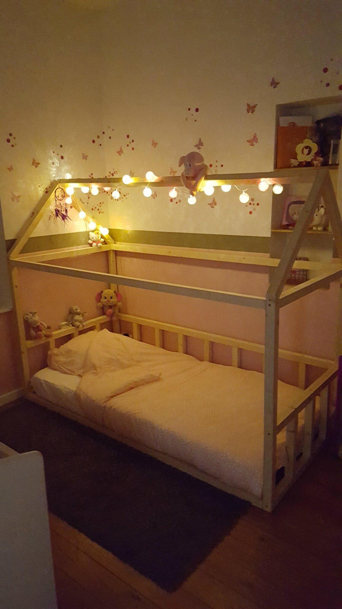 DIY: le lit cabane de Zazouille