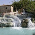 Photo originale: les thermes de Saturnia, Toscane