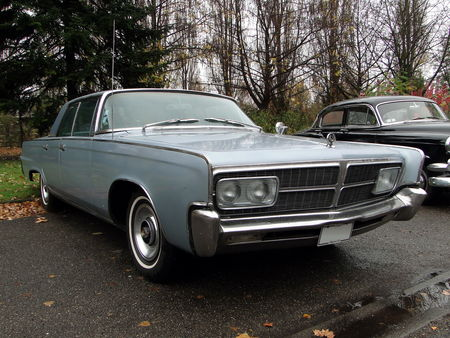 IMPERIAL Crown Hardtop Sedan 1965 Retrorencard 3