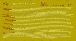 carte voeux 2013 LA REVUE DES 100 VOIX