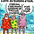 ps conseil constitutionel humour burkini collabo