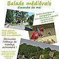 Balade médiévale et visite de l'abbaye de hambye !