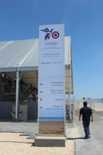 DDay D-Day DDay D-Day tribune Centre International de Presse Press Center Ouistreham 6 juin 2014