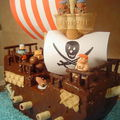 Bateau pirate pour les 3 ans du petit Louis