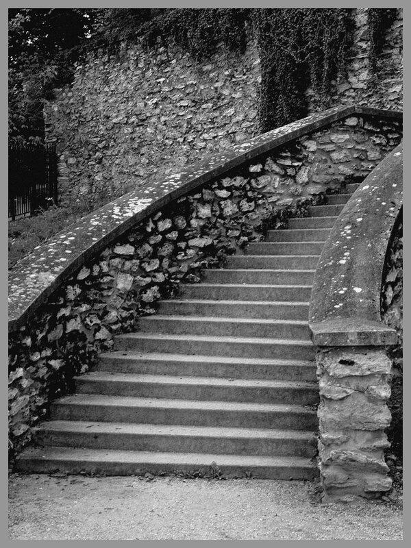 Escalier 1 N&B