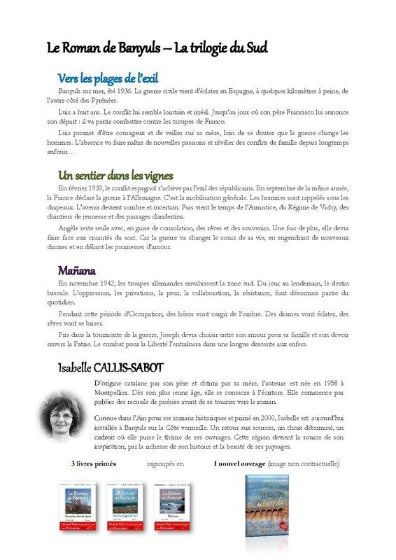 Fiche de souscription - LE ROMAN DE BANYULS - Tirage numéroté-page-002