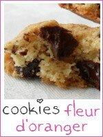 cookies fleur d'oranger - index