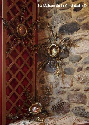 Cardabelle de bronze