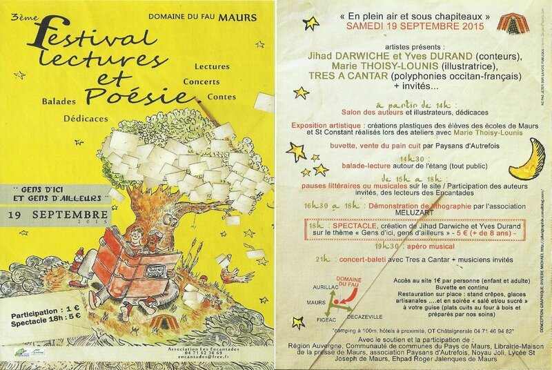 Maurs festival poesie lecture