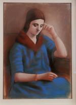 Picasso Portrait d'Olga 1921