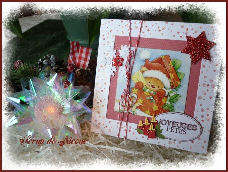 Carte Joyeuses fêtes
