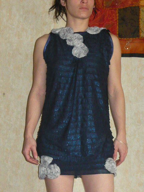 ma robe bleu