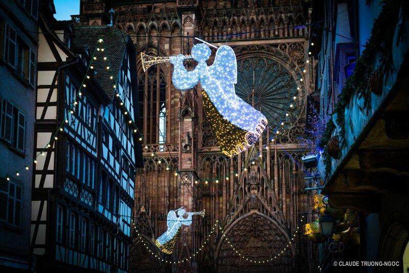 Anges gardiens rue Mercière