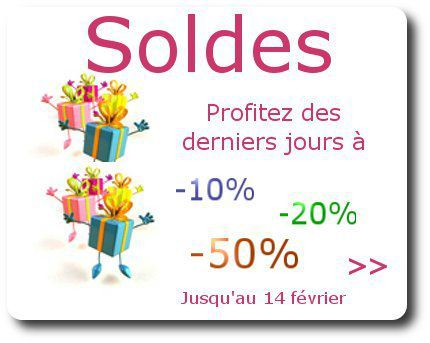 Newsletter solde