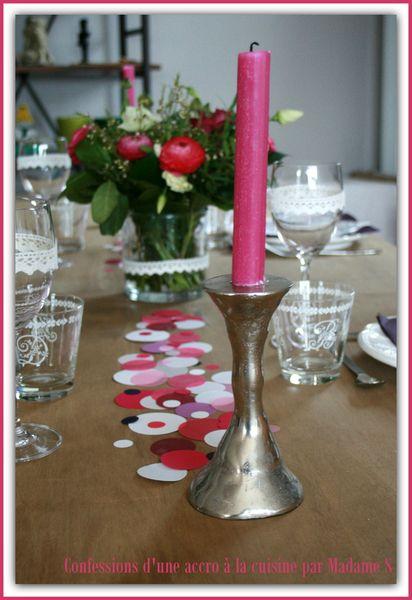 Table Confetti rose et prune 004
