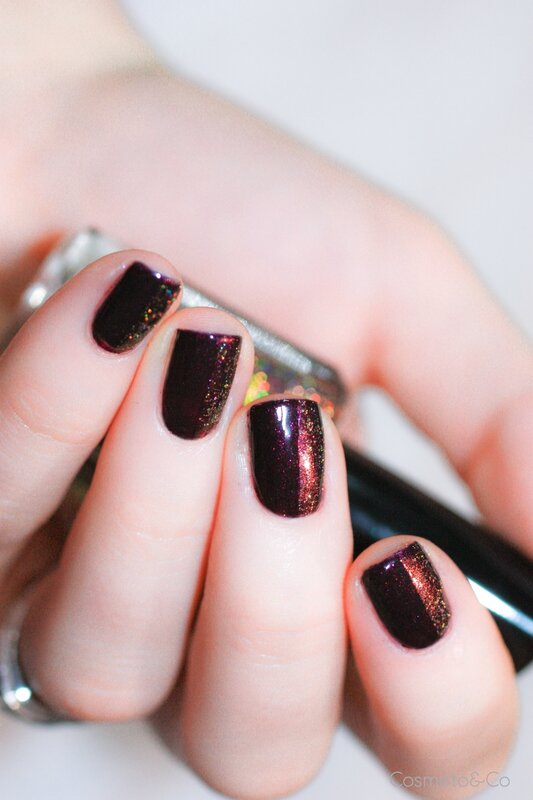 nail art FUN Lacquer Celebrate H Bourjois Prune Stellaire