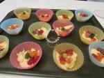 cupcakes à la poudre d'amande et aux fruits confits 006