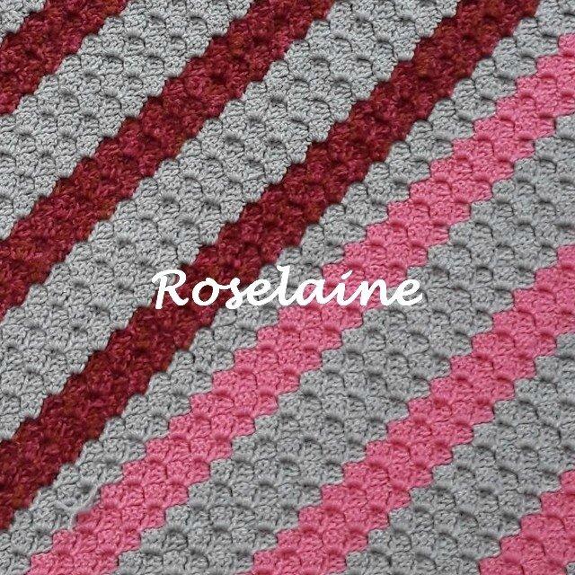 Roselaine coussin c2c 4