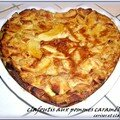 CLAFOUTIS AUX POMMES CARAMELISEES