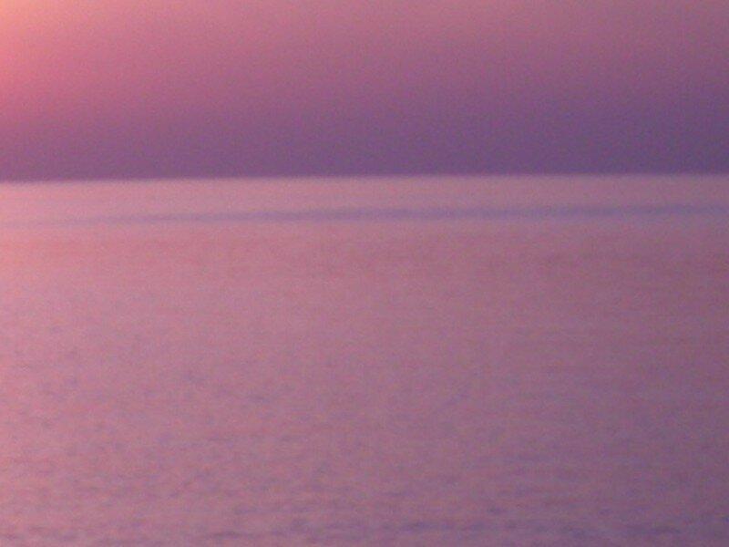 Crépuscule violet - 1