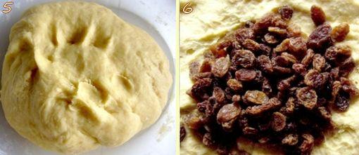 montage brioche raisins 3