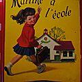 Martine à l'école (1ere édition) 1957