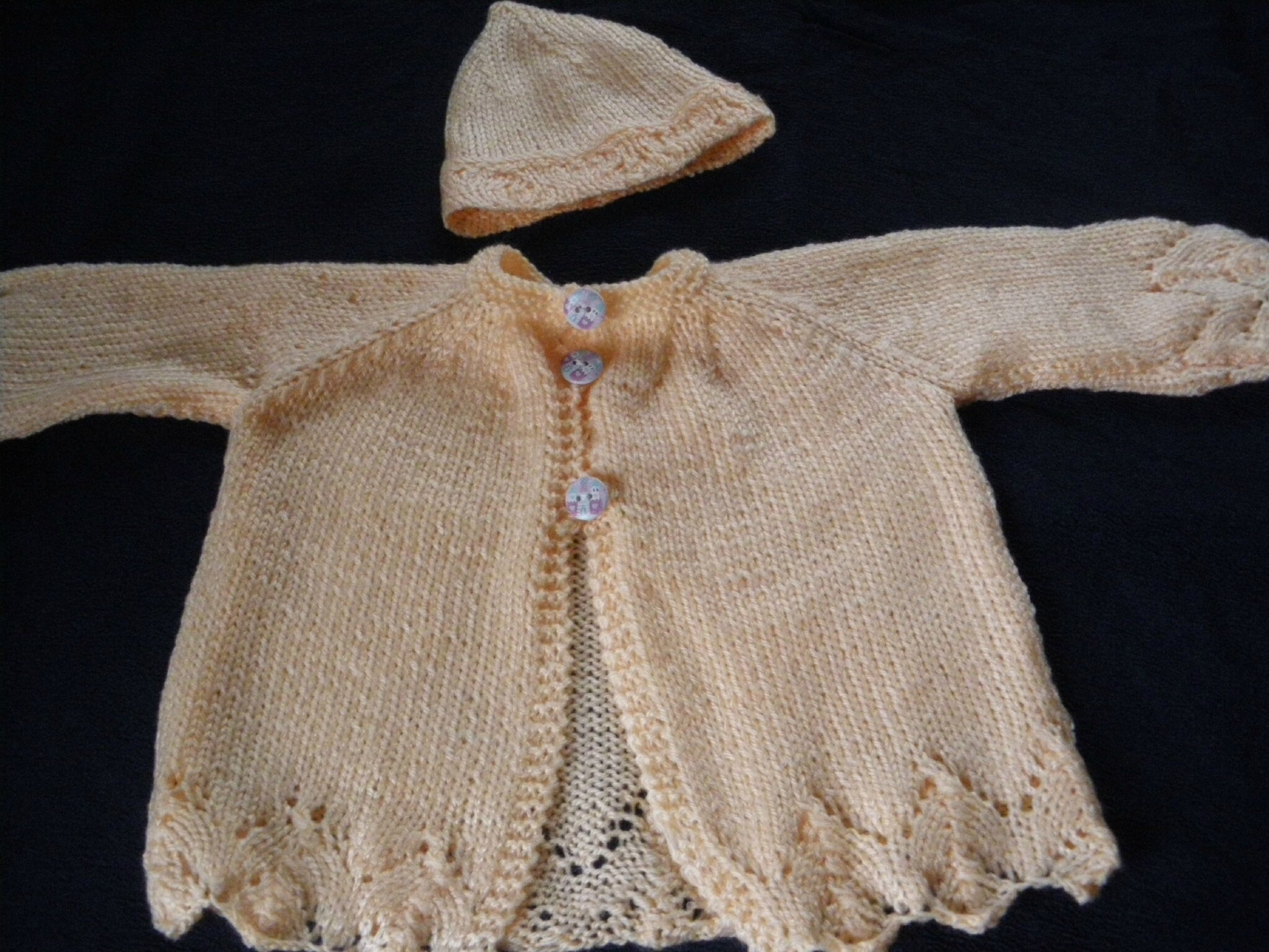 CARDIGAN TRICOTE POUR LILLY