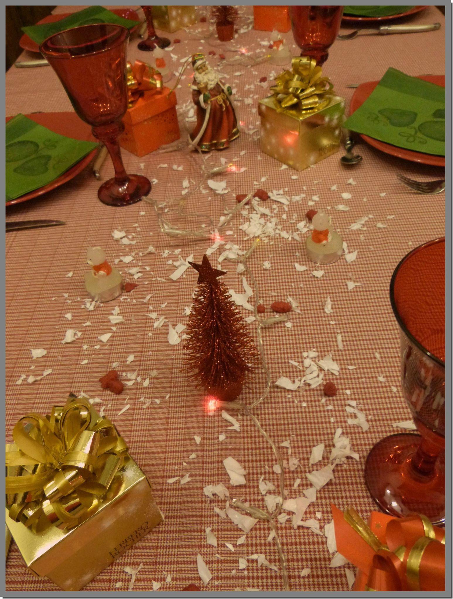 #B94612 Table De Noël En Rouge Et Vert Tables Et Déco D'Estelle 6183 decoration de table de noel en rouge et vert 1547x2048 px @ aertt.com