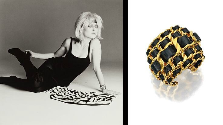 Debbie Harry & A Chanel Cuff-Bracelet
