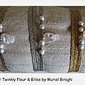 Bracelet/Collier Twinkly Skull & Billes