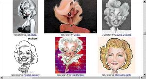 About Faces Entertainment Marilyn Monroe