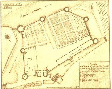 planche_7_1_Vieux_Chateau___Arsenal_1728