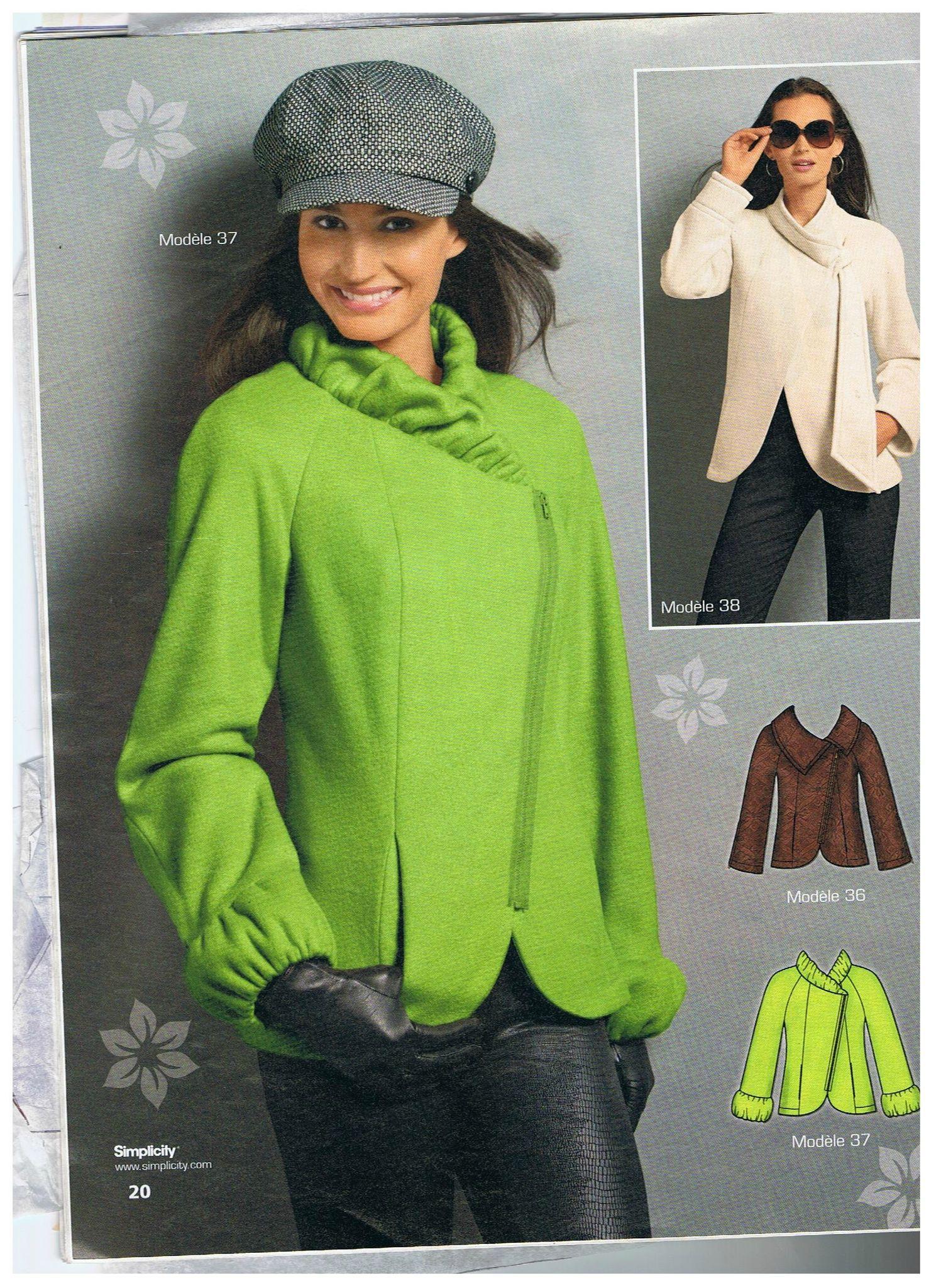 Faire un manteau femme