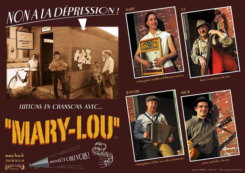 Affiche : Mary-Lou