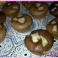 Reprise et muffins choco poire