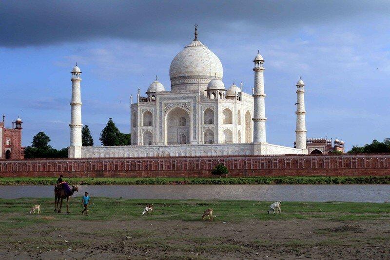 Taj Mahal from the river