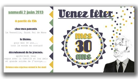 invitation 30 ans loic copie