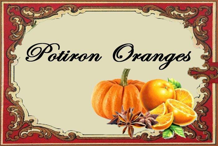potiron oranges
