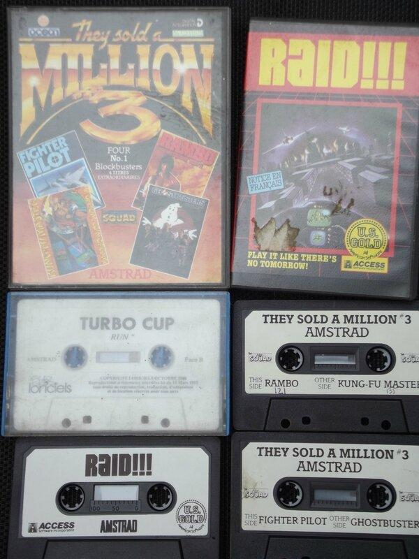 Cassette Amstrad 006
