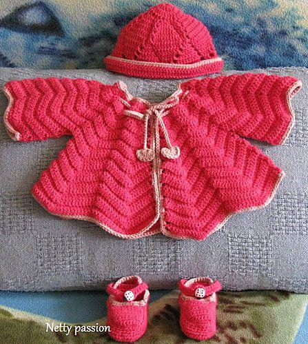 modele de layette au crochet