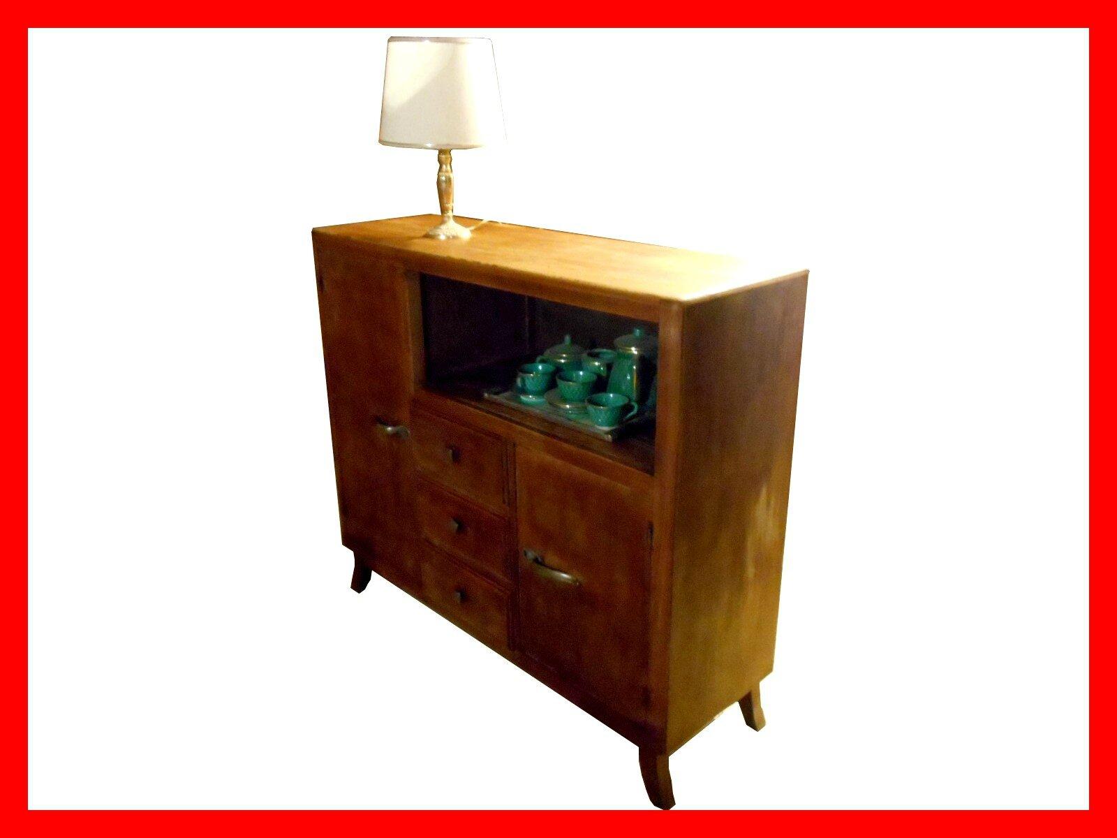 petit buffet enfilade vintage ann es 50 meubles et d coration vintage design scandinave. Black Bedroom Furniture Sets. Home Design Ideas